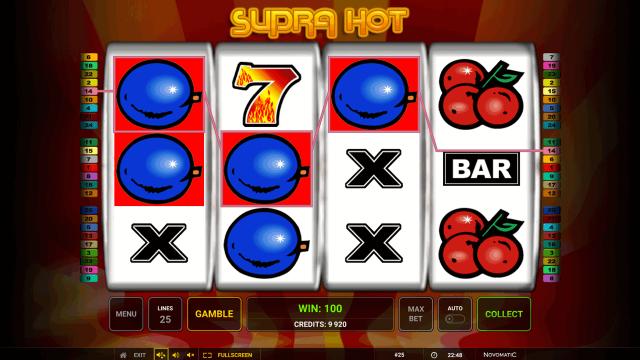 игровой автомат Supra Hot 5