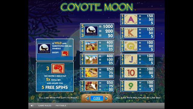 онлайн аппарат Coyote Moon 5