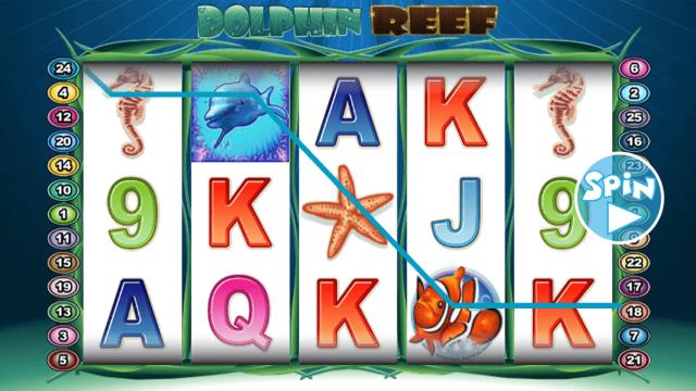 популярный слот Dolphin Reef 6