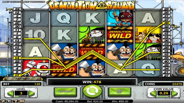 популярный слот Demolition Squad 8