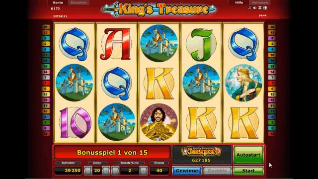 онлайн аппарат King's Treasure 6