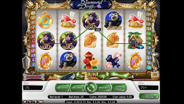 игровой автомат Diamond Dogs 4