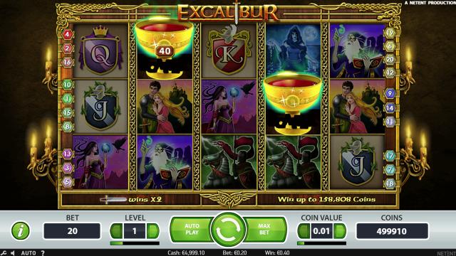 популярный слот Excalibur 6