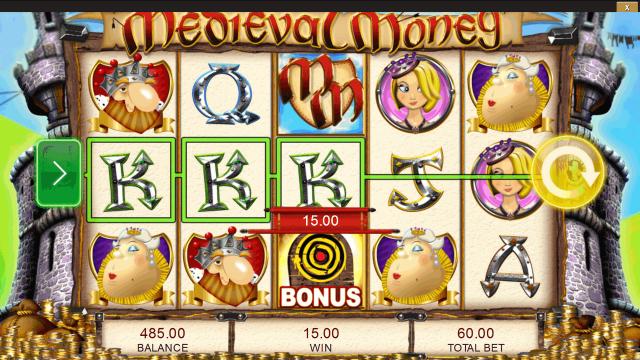 популярный слот Medieval Money 8