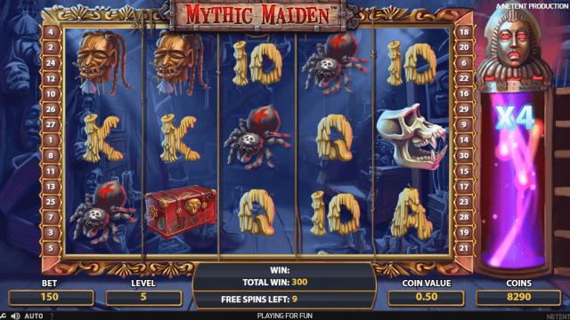 игровой автомат Mythic Maiden 9