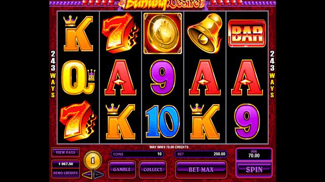 игровой автомат Burning Desire 3