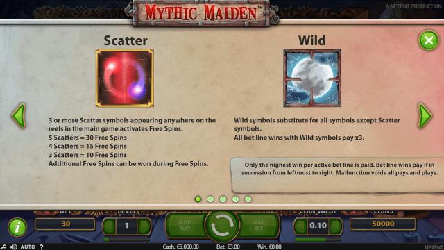 игровой автомат Mythic Maiden 1