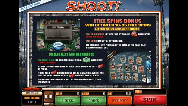 игровой автомат Shoot! 5