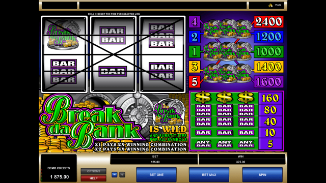 игровой автомат Break Da Bank 2