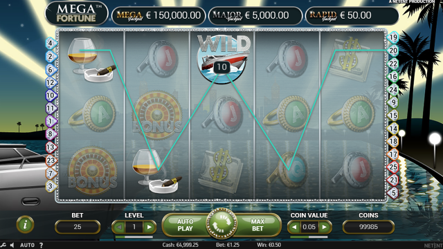 игровой автомат Mega Fortune 7