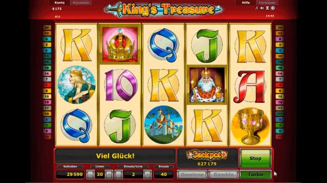 игровой автомат King's Treasure 4