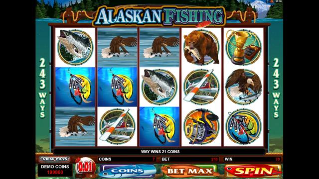игровой автомат Alaskan Fishing 10