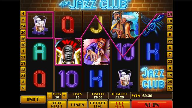 игровой автомат The Jazz Club 1