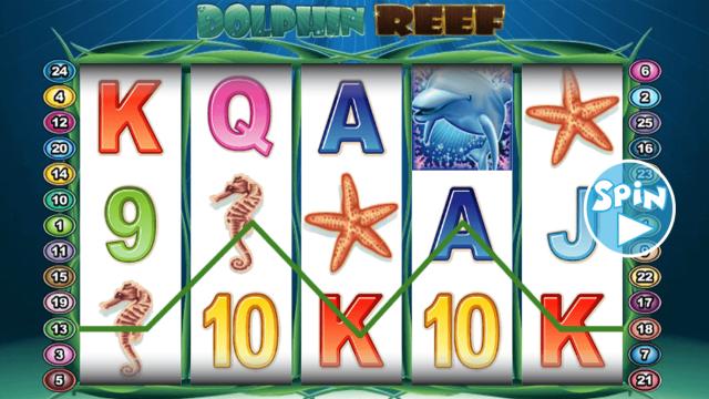 игровой автомат Dolphin Reef 10