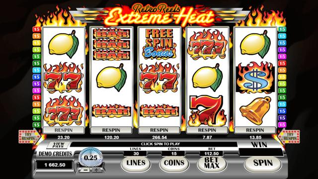 игровой автомат Retro Reels Extreme Heat 4