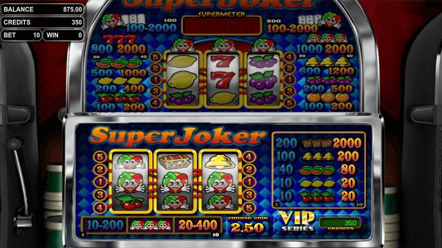 популярный слот Super Joker VIP 7