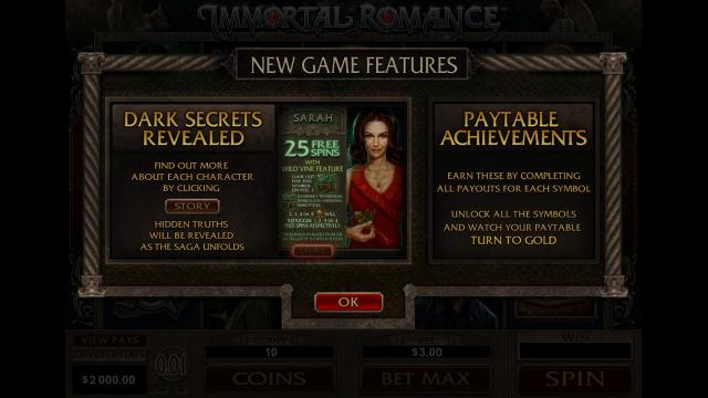 игровой автомат Immortal Romance 1