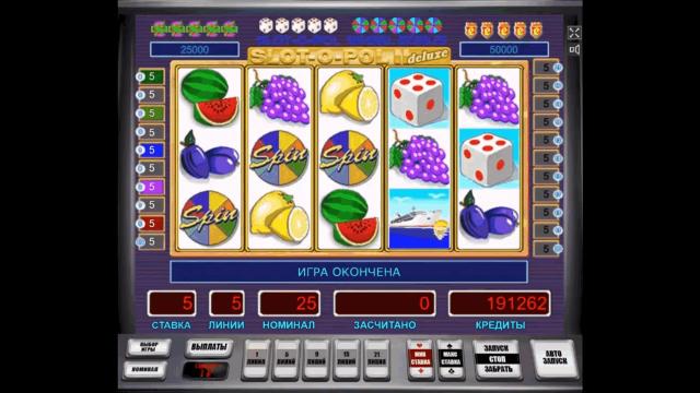 онлайн аппарат Slot-O-Pol Deluxe 9