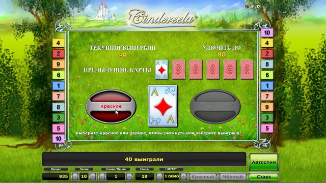 популярный слот Cindereela 10