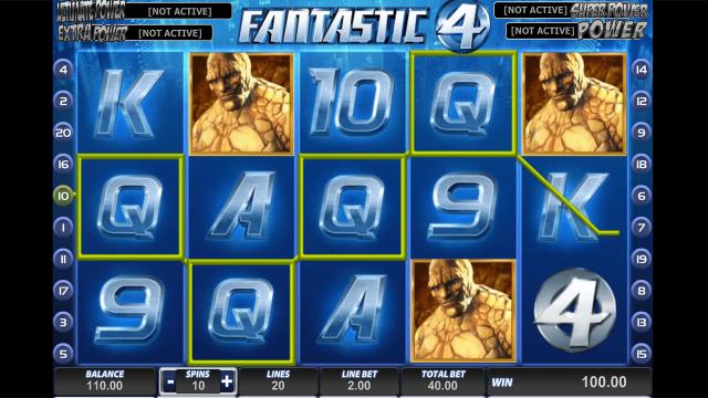 игровой автомат Fantastic Four 8