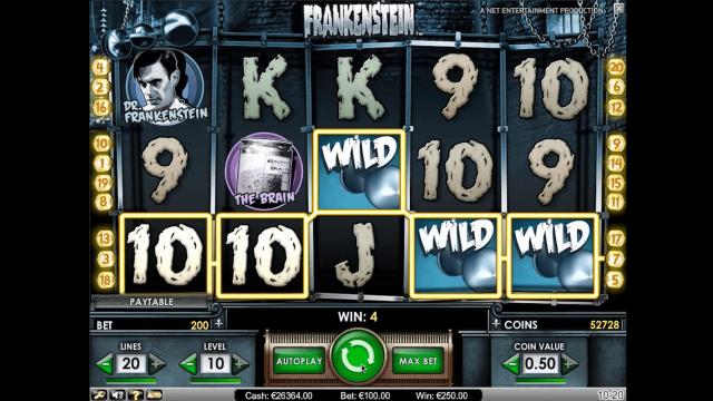 игровой автомат Frankenstein 3