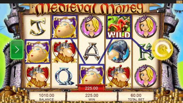 популярный слот Medieval Money 3