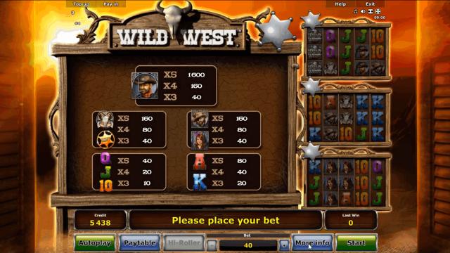 популярный слот Wild West 5
