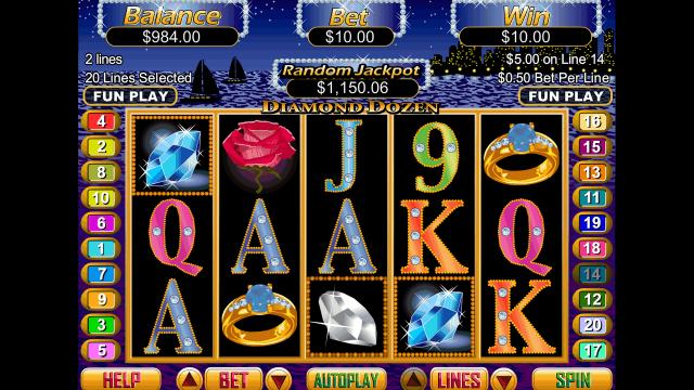 игровой автомат Diamond Dozen 3