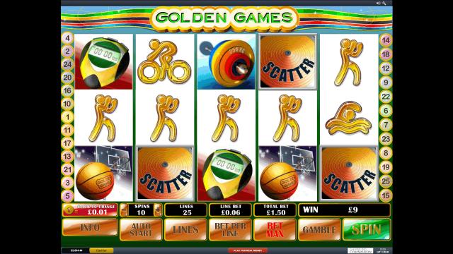 популярный слот Golden Games 9