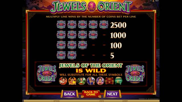 онлайн аппарат Jewels Of The Orient 3