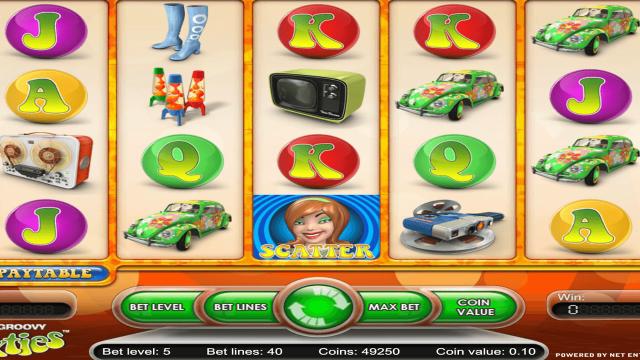 игровой автомат The Groovy Sixties 4