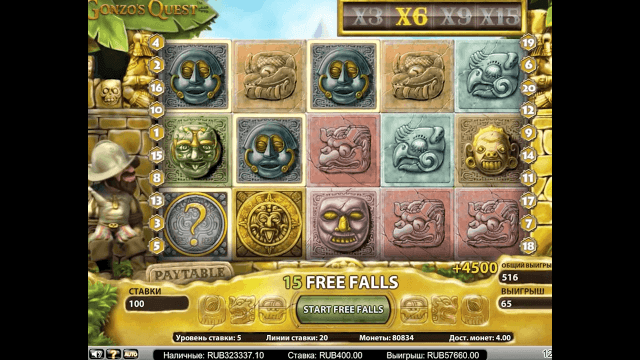 игровой автомат Gonzo's Quest Extreme 6