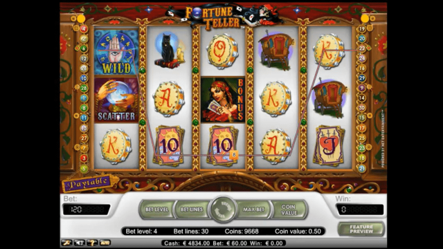 игровой автомат Fortune Teller 2
