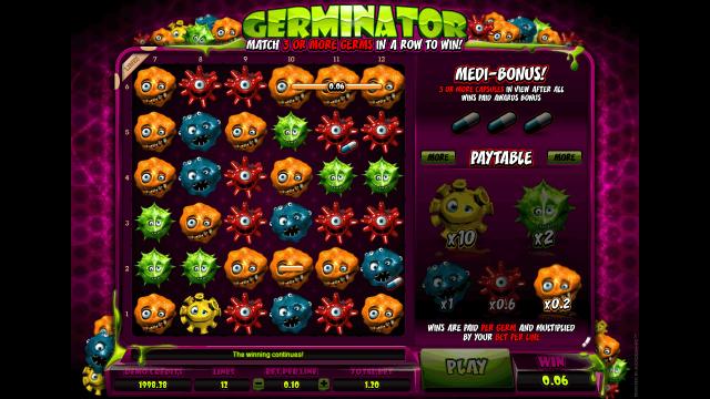 игровой автомат Germinator 2