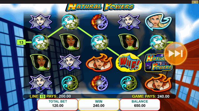 игровой автомат Natural Powers 3