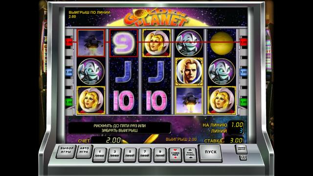 игровой автомат Golden Planet 10