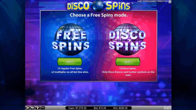 онлайн аппарат Disco Spins 6