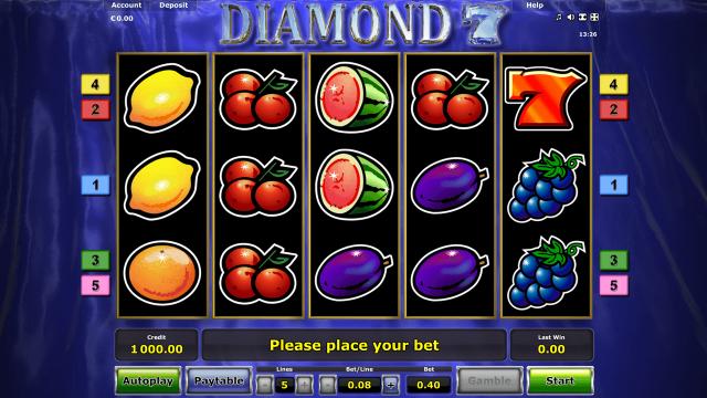 популярный слот Diamond 7 7
