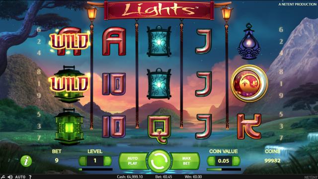 игровой автомат Lights 7