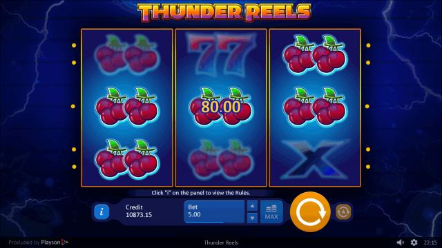 популярный слот Thunder Reels 7