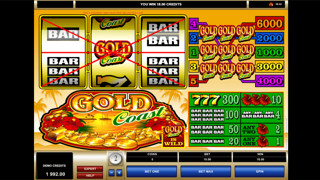 игровой автомат Gold Coast 5