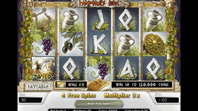 игровой автомат Pandora's Box 10