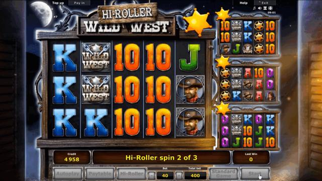 онлайн аппарат Wild West 8