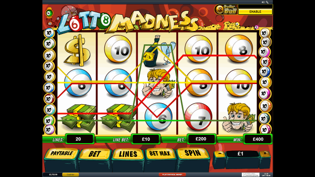 популярный слот Lotto Madness 6