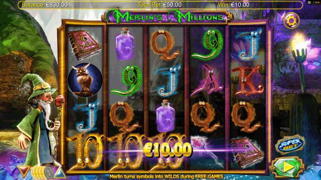 игровой автомат Merlin's Millions 6