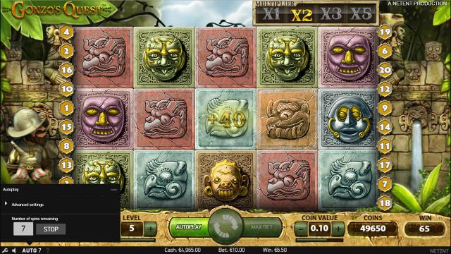 популярный слот Gonzo's Quest 7