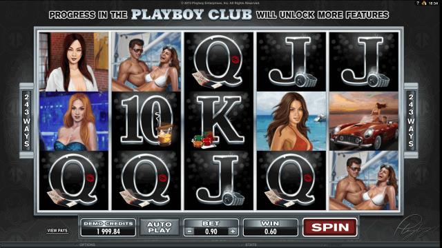 игровой автомат Playboy 8