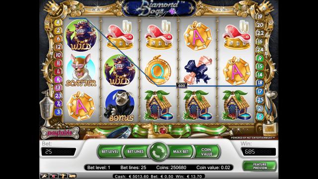 игровой автомат Diamond Dogs 3