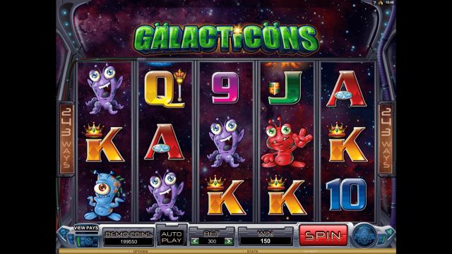 популярный слот Galacticons 8