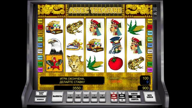 онлайн аппарат Aztec Treasure 4